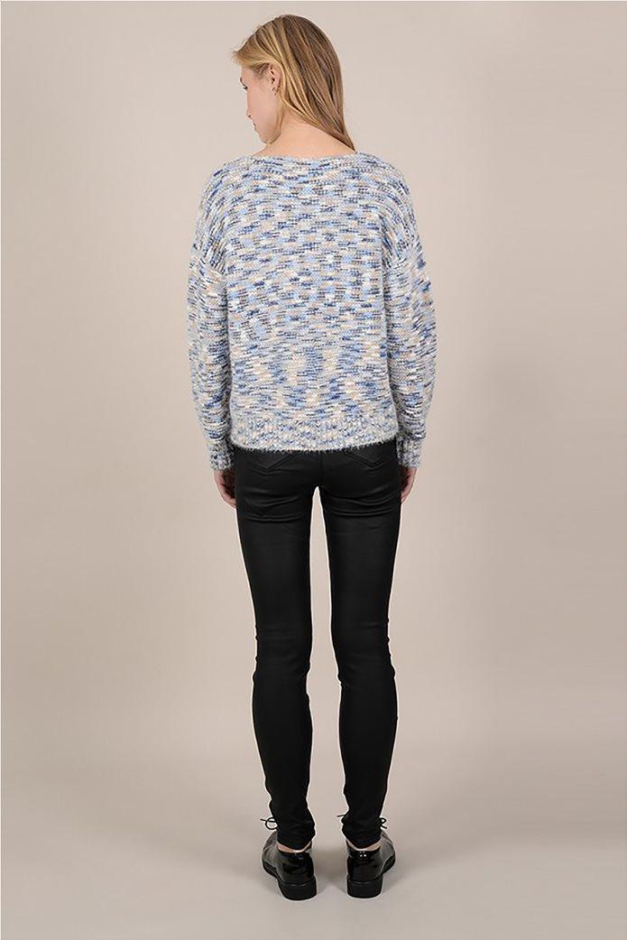 Molly Bracken γυναικεία πλεκτή μπλούζα μελανζέ 1