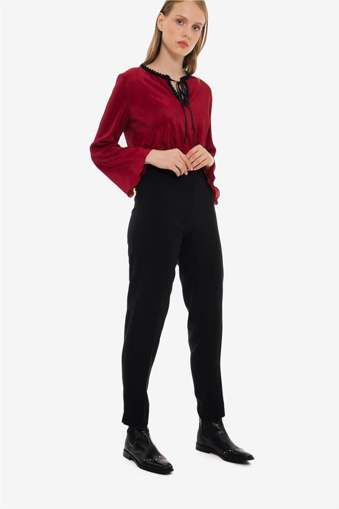 Jupe γυναικείo υφασμάτινο ψηλόμεσο παντελόνι 0