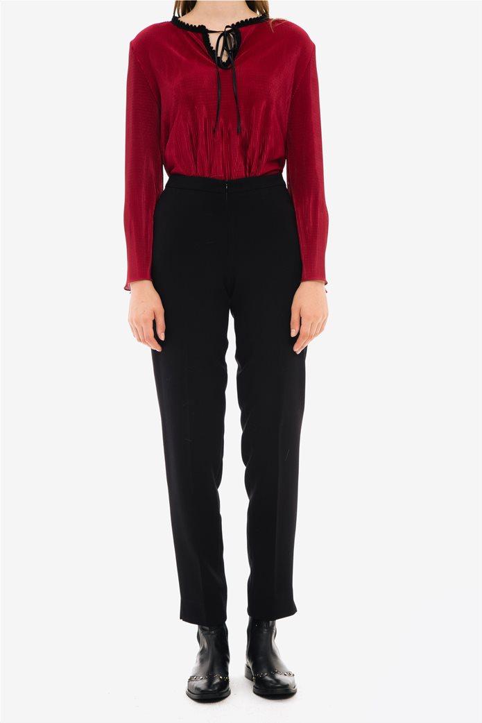 Jupe γυναικείo υφασμάτινο ψηλόμεσο παντελόνι 1