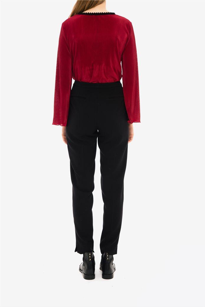 Jupe γυναικείo υφασμάτινο ψηλόμεσο παντελόνι 2