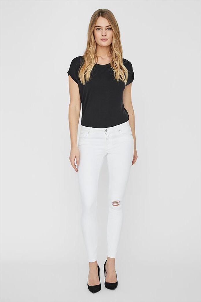 Vero Moda γυναικείο χαμηλόμεσο τζην παντελόνι Skinny Fit 0
