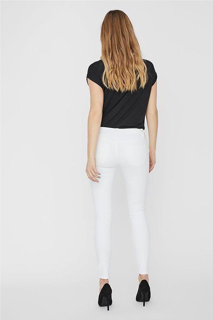 Vero Moda γυναικείο χαμηλόμεσο τζην παντελόνι Skinny Fit 1