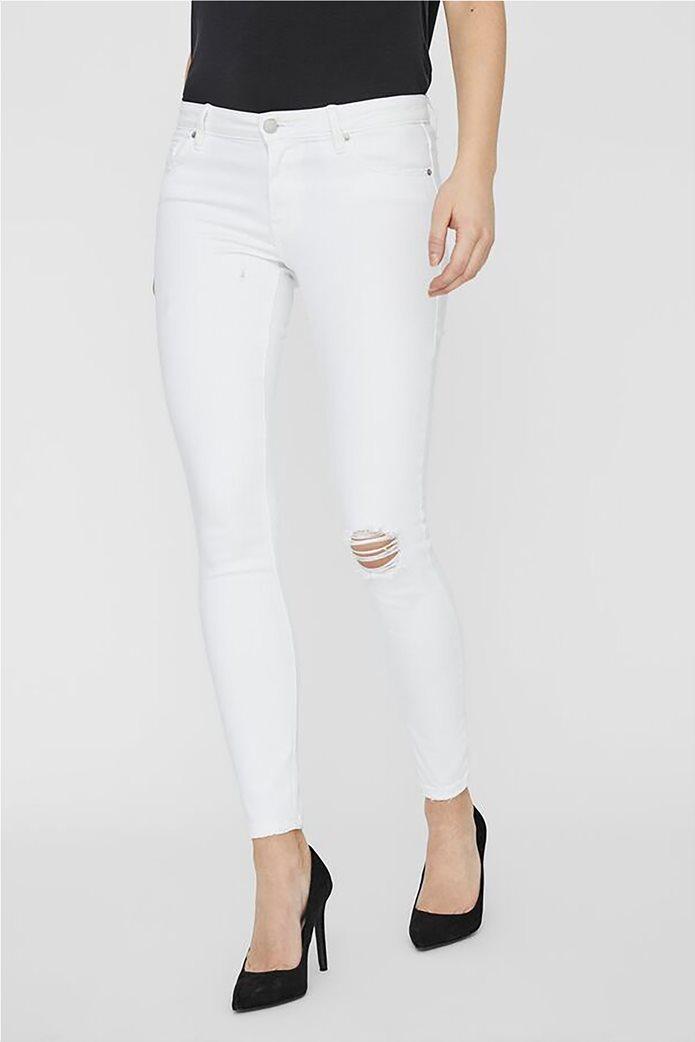 Vero Moda γυναικείο χαμηλόμεσο τζην παντελόνι Skinny Fit 2