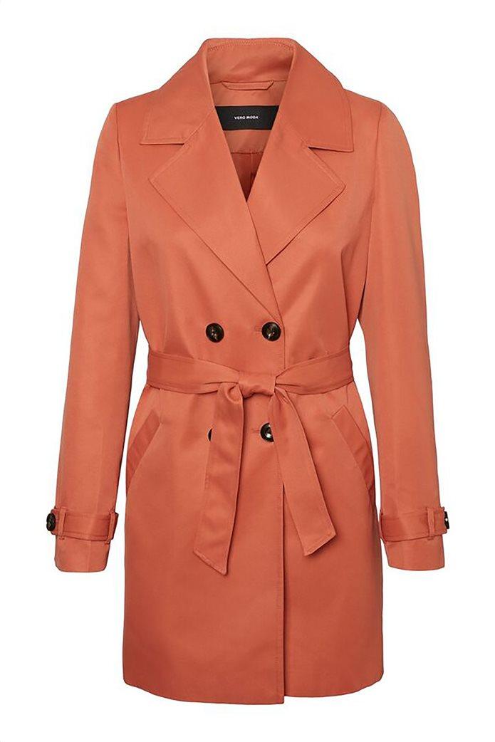 Vero Moda γυναικείo midi παλτό μονόχρωμο 3