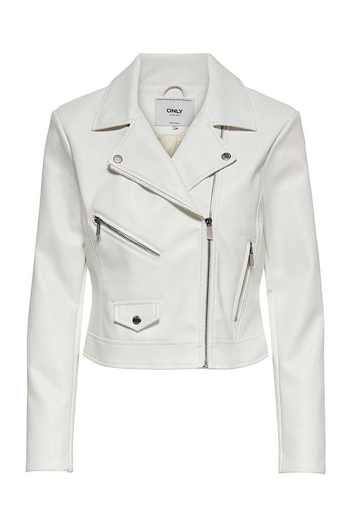 ONLY γυναικείο faux leather jacket 4