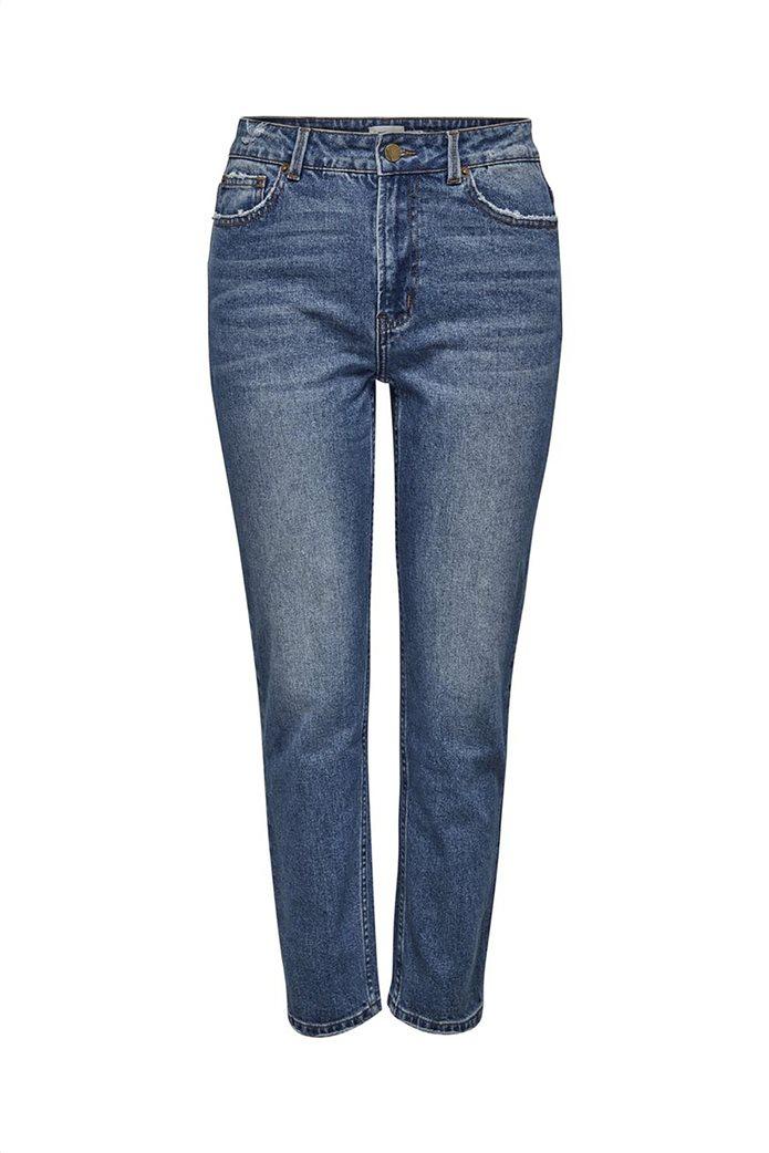 ONLY γυναικείο τζην παντελόνι Straight fit Μπλε 0