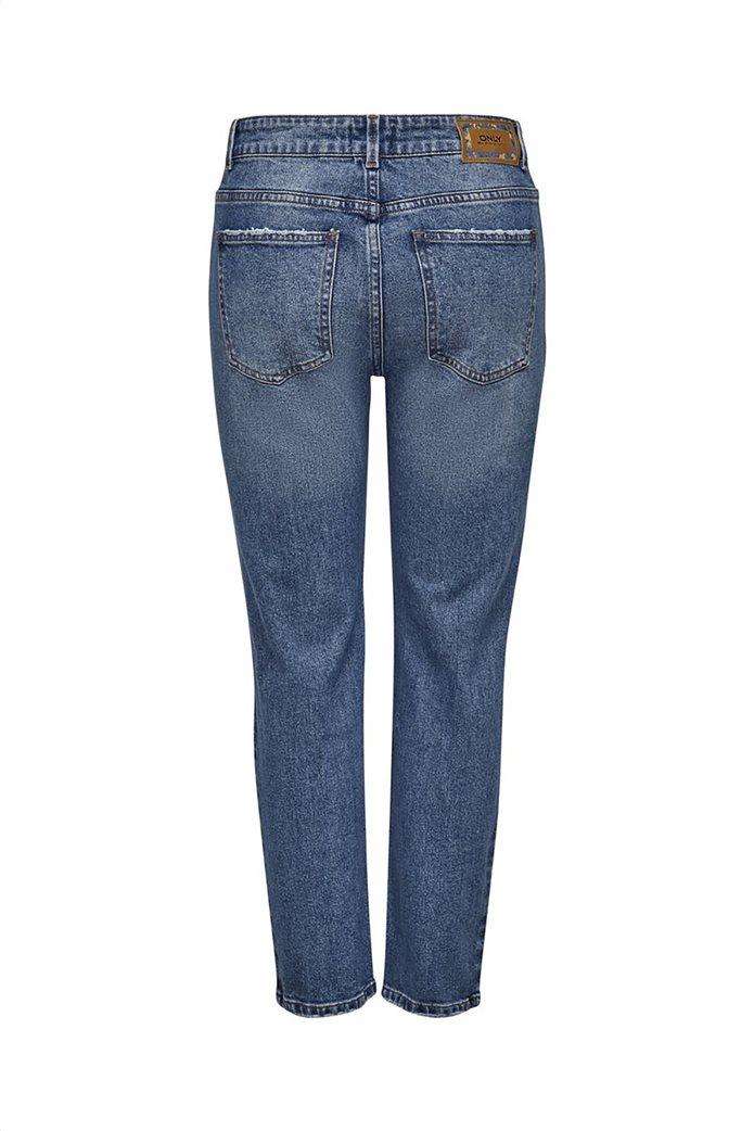 ONLY γυναικείο τζην παντελόνι Straight fit Μπλε 1