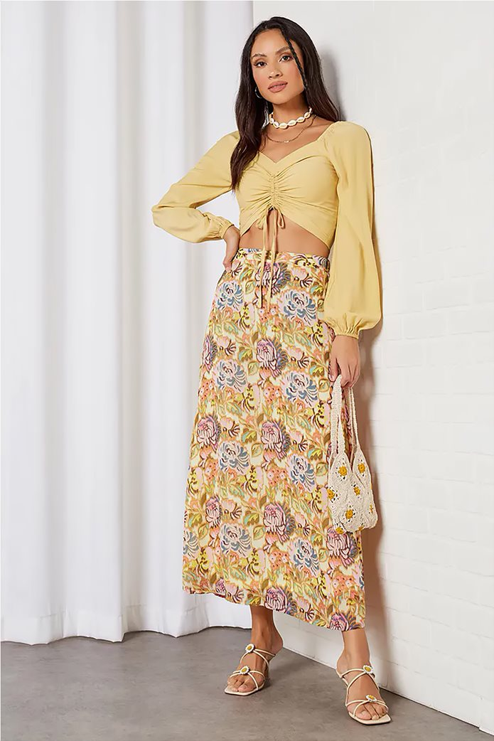 ONLY γυναικεία maxi φούστα με all-over floral print Σομον 0