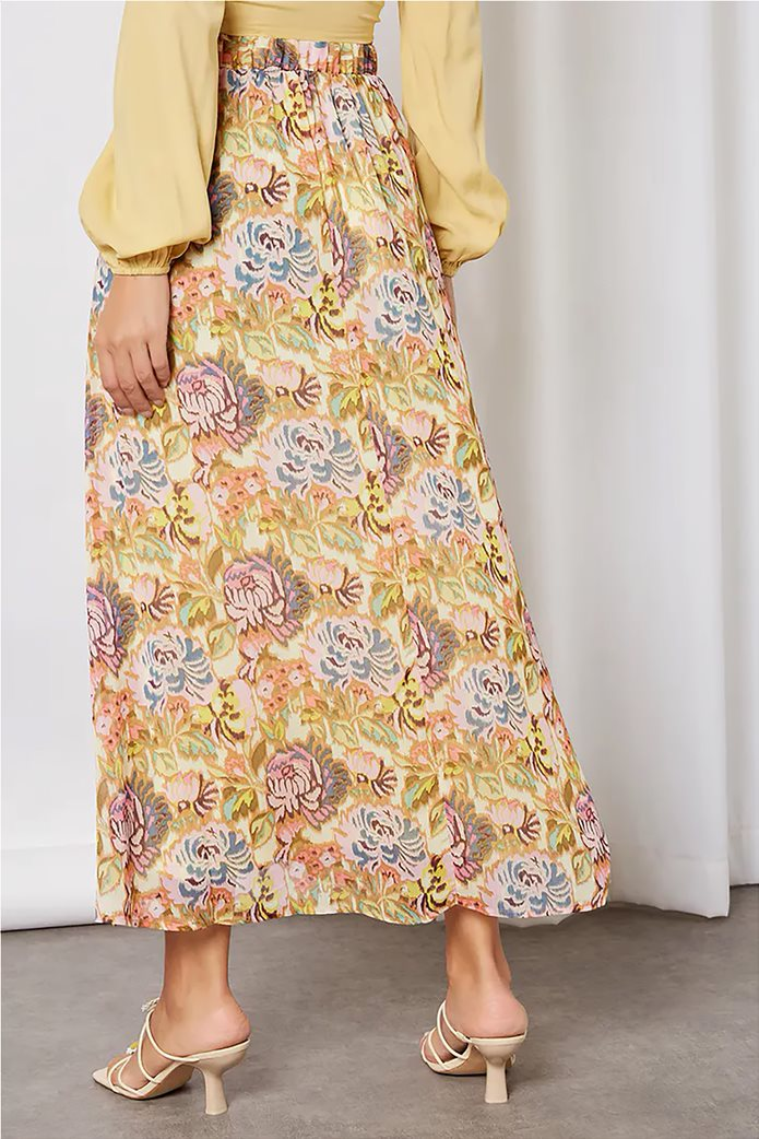 ONLY γυναικεία maxi φούστα με all-over floral print Σομον 3