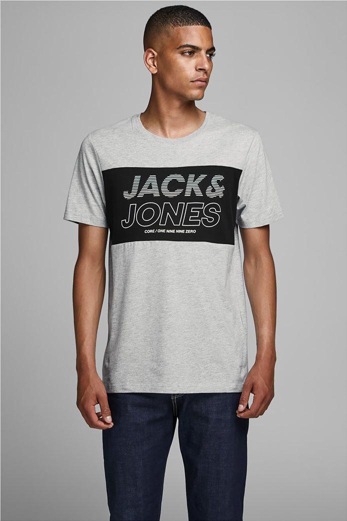 JACK & JONES ανδρικό T-shirt με logo print 0