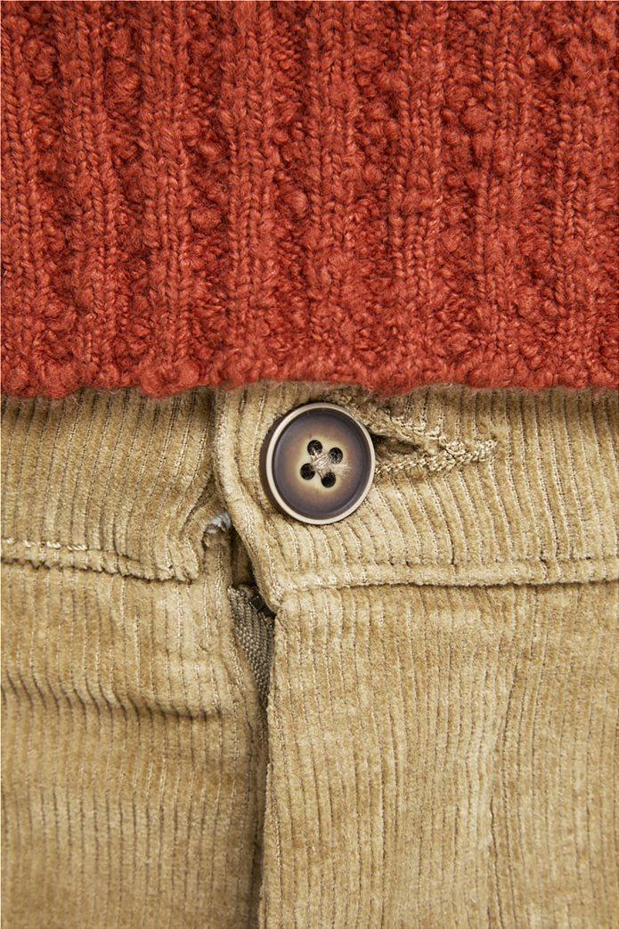 JACK & JONES ανδρικό παντελόνι chino κοτλέ 2