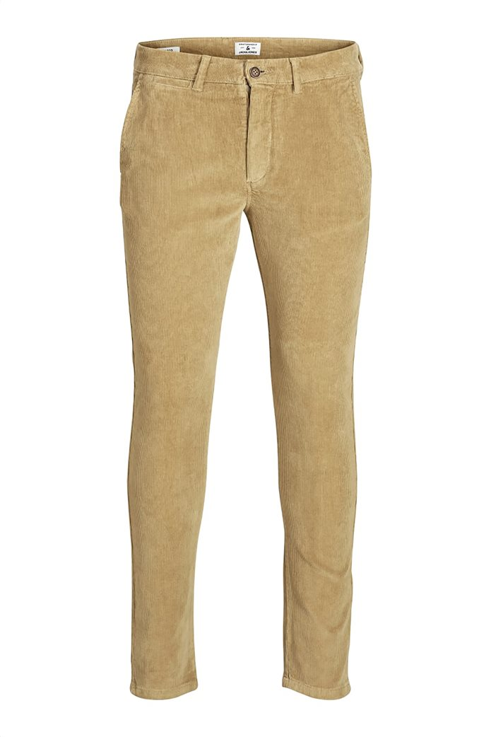 JACK & JONES ανδρικό παντελόνι chino κοτλέ 5