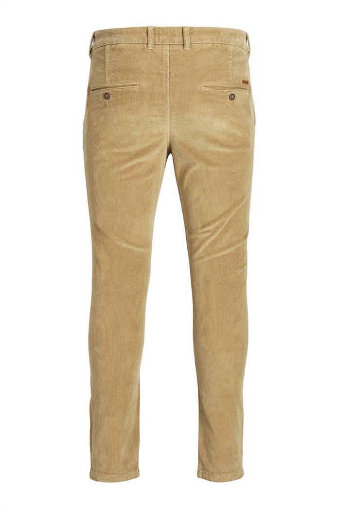 JACK & JONES ανδρικό παντελόνι chino κοτλέ 6