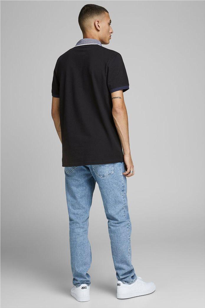 JACK & JONES ανδρική πικέ πόλο μπλούζα 2