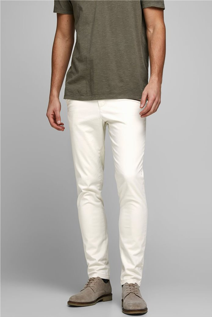 """JACK & JONES ανδρικό παντελόνι chino Slim Fit """"Marco Bowie"""" 0"""