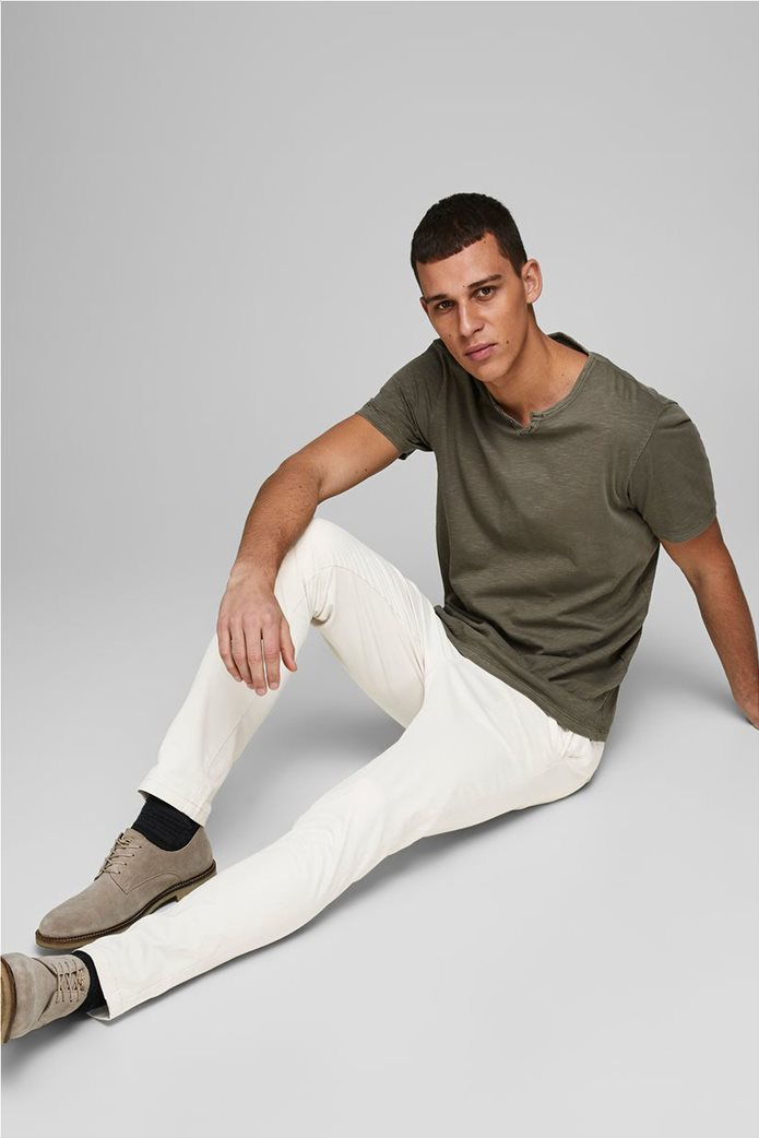 """JACK & JONES ανδρικό παντελόνι chino Slim Fit """"Marco Bowie"""" 1"""