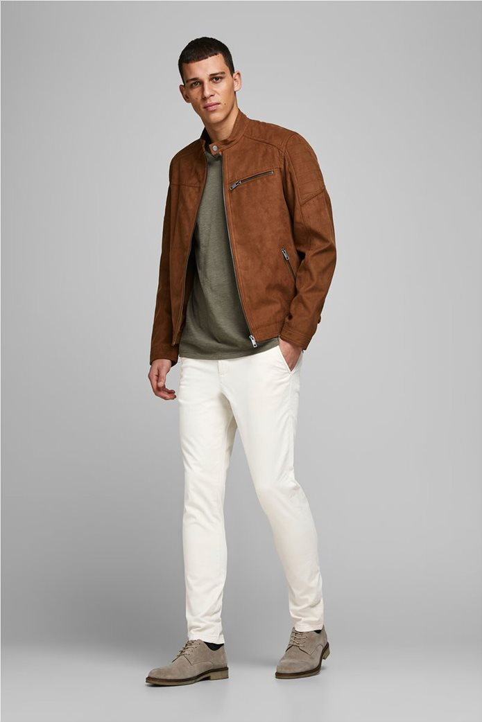 """JACK & JONES ανδρικό παντελόνι chino Slim Fit """"Marco Bowie"""" 2"""