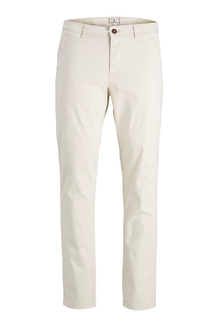 """JACK & JONES ανδρικό παντελόνι chino Slim Fit """"Marco Bowie"""" 4"""