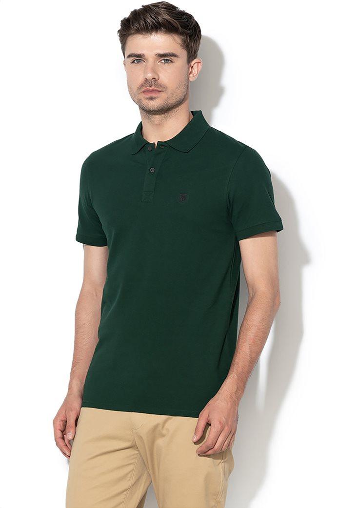 Selected ανδρική μπλούζα πόλο μονόχρωμη 0