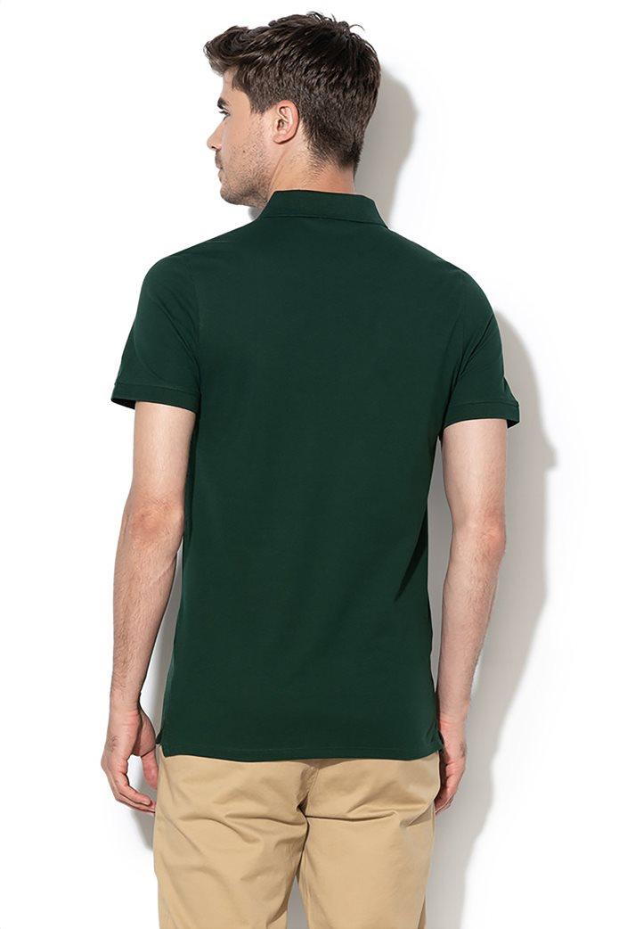 Selected ανδρική μπλούζα πόλο μονόχρωμη 1