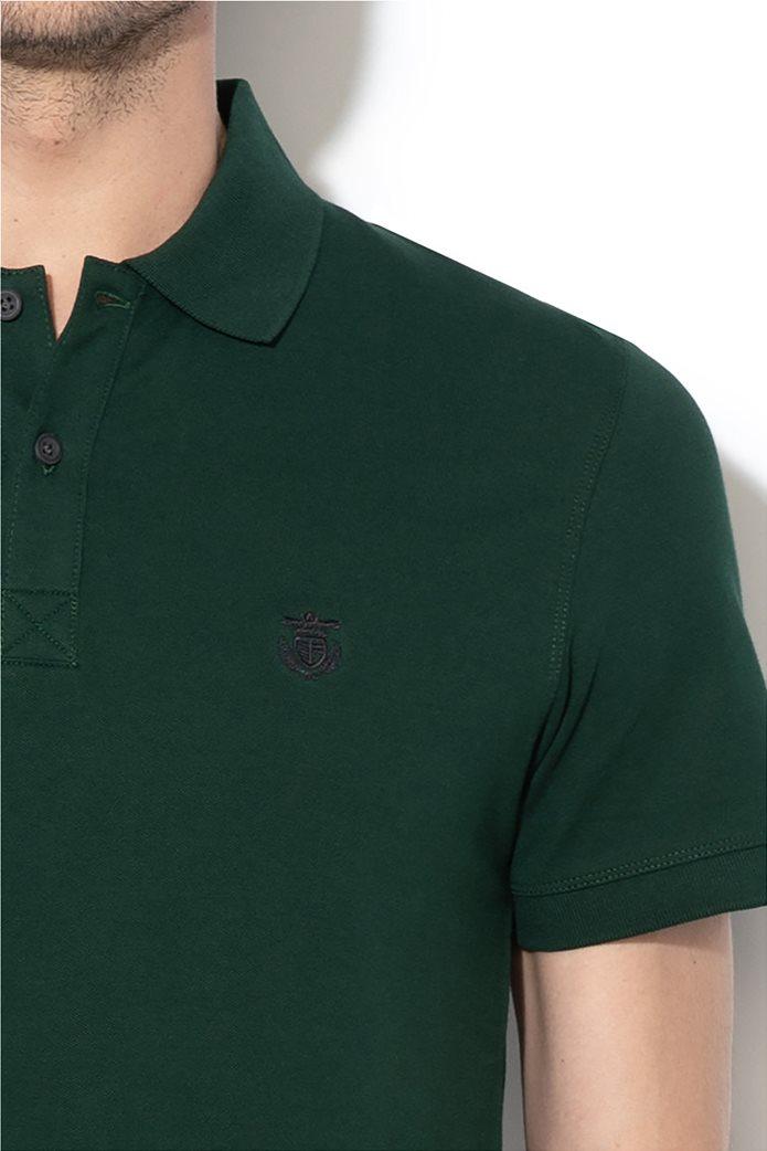 Selected ανδρική μπλούζα πόλο μονόχρωμη 2