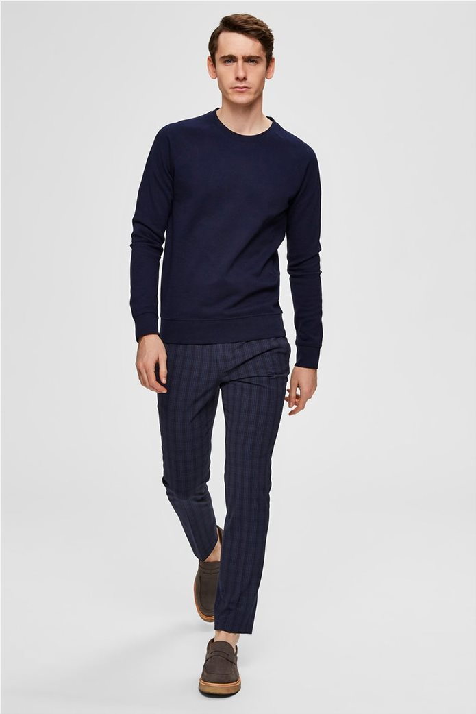 Selected ανδρική πλεκτή μπλούζα  μονόχρωμη 2