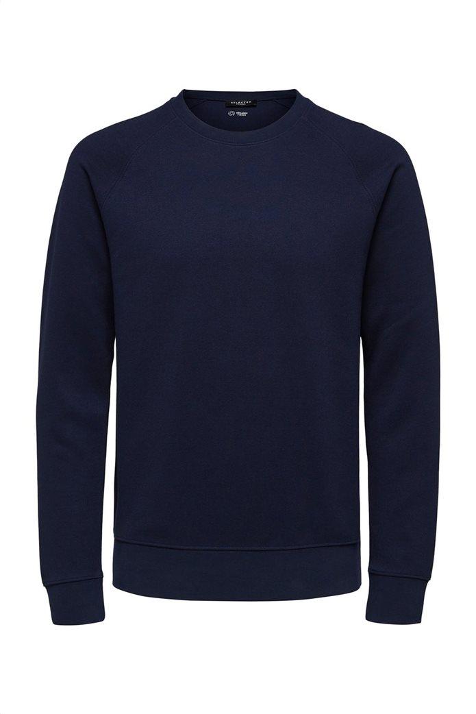 Selected ανδρική πλεκτή μπλούζα  μονόχρωμη 4