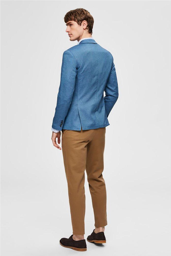 Selected ανδρικό σακάκι μονόχρωμο Slim Fit 3