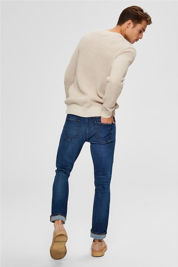 """Selected ανδρικό τζην παντελόνι Slim fit """"6212"""" 2"""