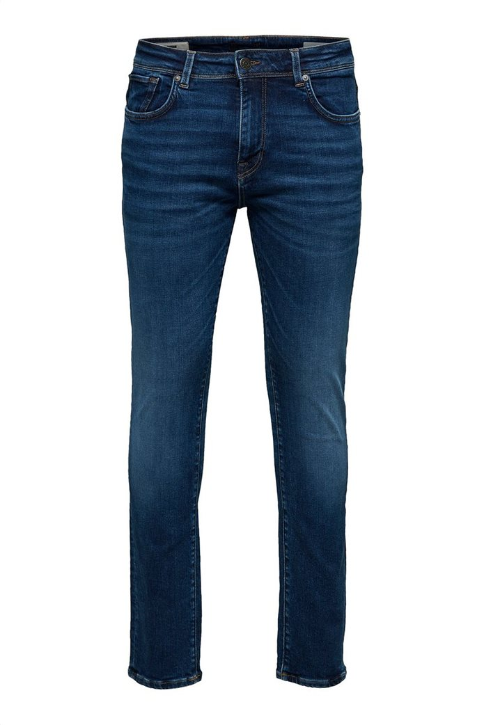 """Selected ανδρικό τζην παντελόνι Slim fit """"6212"""" 3"""