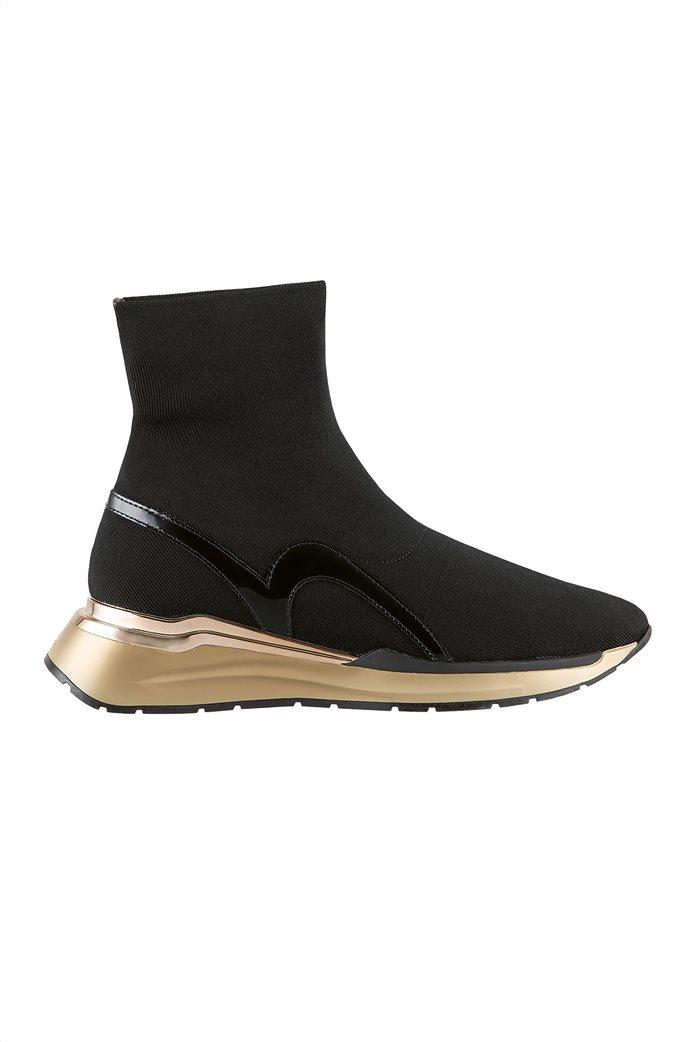 Högl γυναικεία sneakers μποτάκια με μεταλλικές λεπτομέρειες ''Forward'' 0