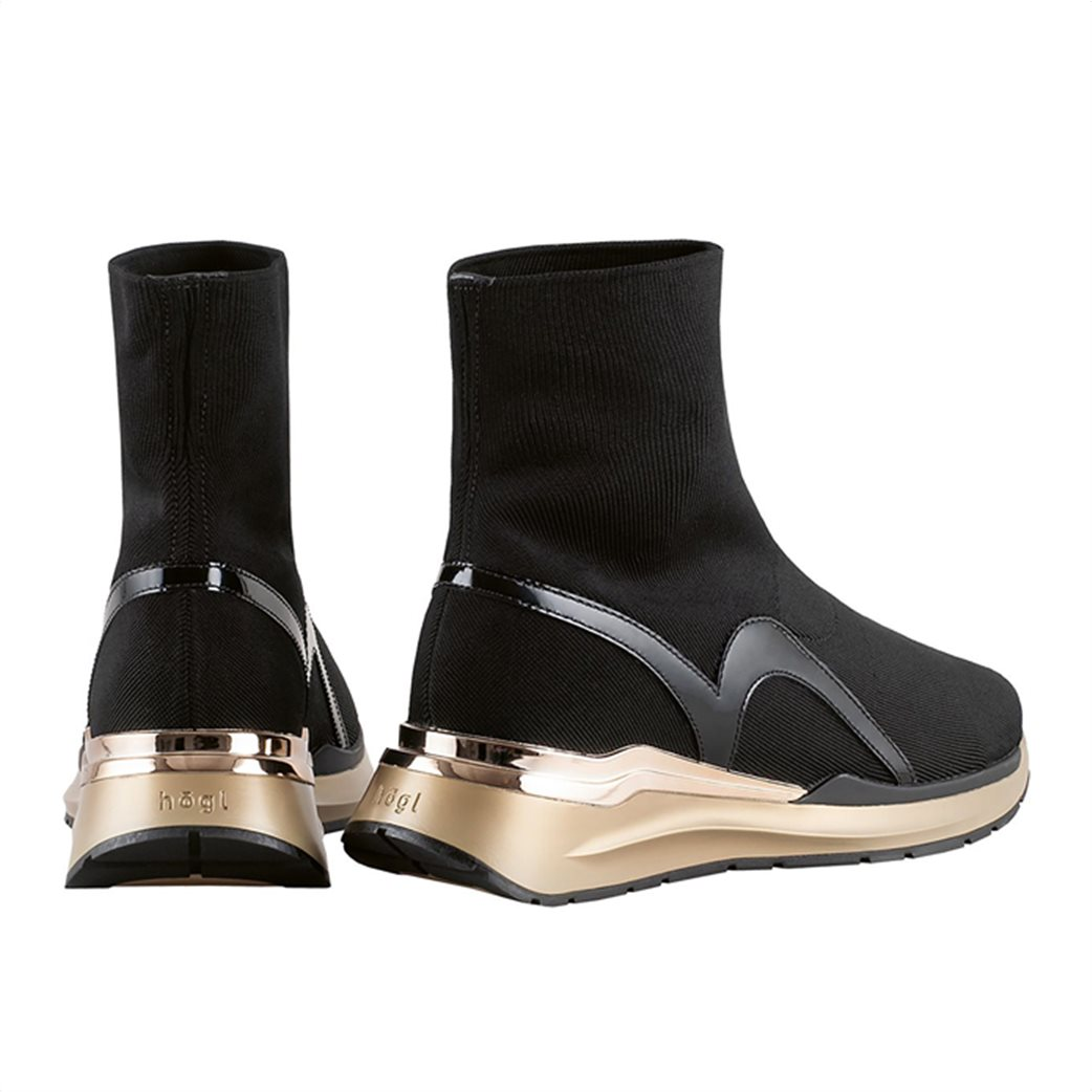 Högl γυναικεία sneakers μποτάκια με μεταλλικές λεπτομέρειες ''Forward'' 2