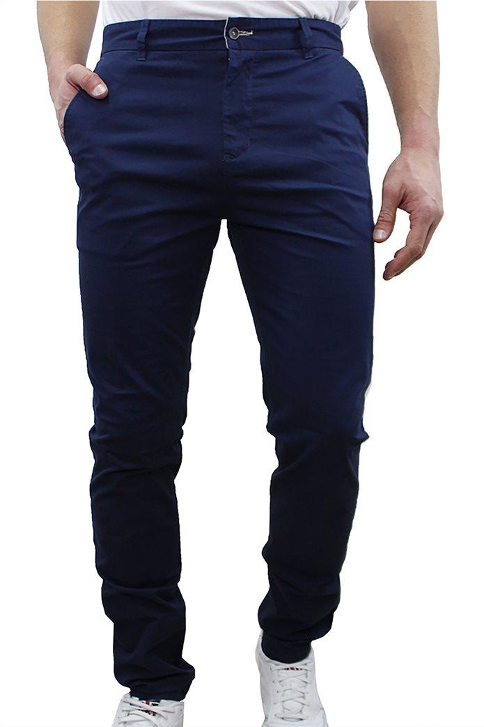 DORS ανδρικό chino παντελόνι με κεντημένο λογότυπο 0