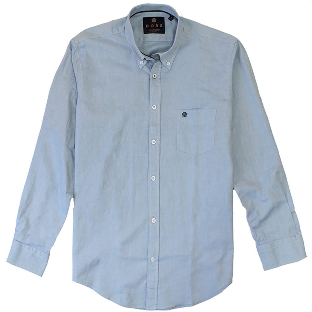 """DORS ανδρικό πουκάμισο μονόχρωμο """"Oxford"""" 2"""