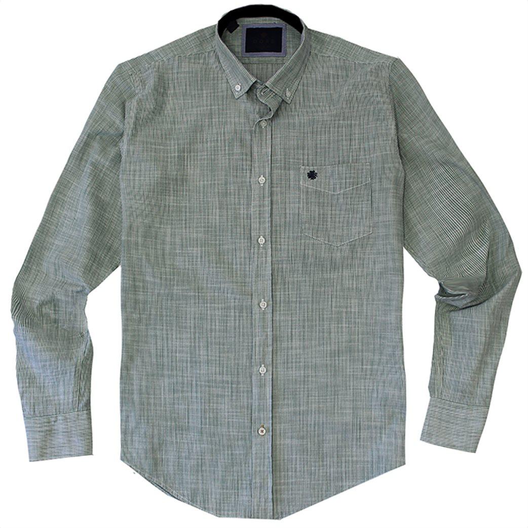 DORS ανδρικό βαμβακερό πουκάμισο ριγέ 3