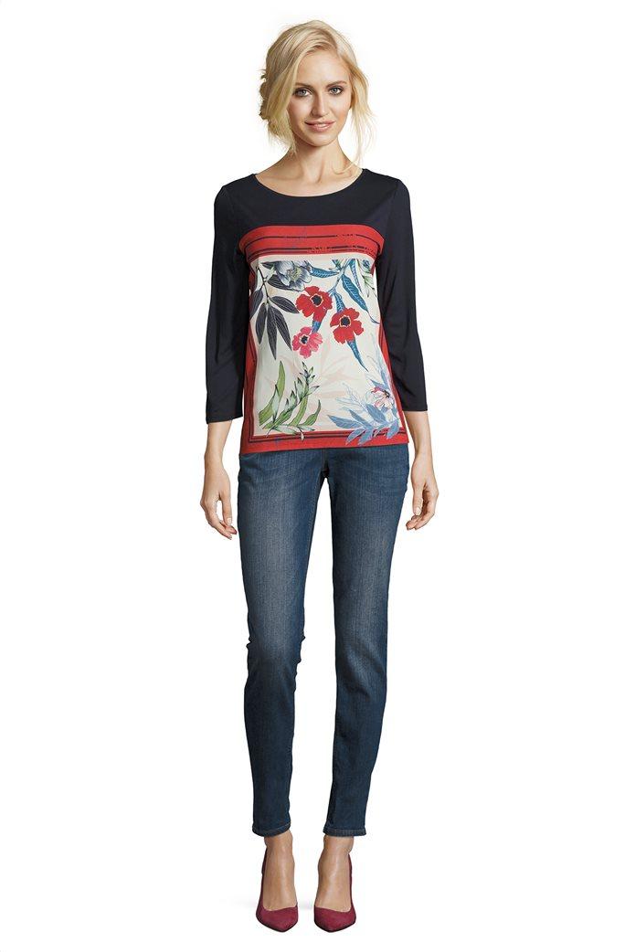 BΕΤΤΥ & CO Γυναικεία μπλούζα με έντονο φλοράλ print 2