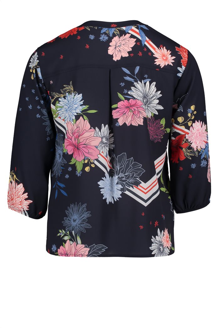 BΕΤΤΥ & CO Γυναικεία μπλούζα με άνοιγμα και έντονο φλοράλ print 4