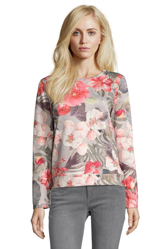 BΕΤΤΥ & CO Γυναικεία μπλούζα με μεγάλο φλοράλ print 0