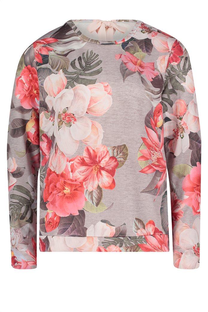 BΕΤΤΥ & CO Γυναικεία μπλούζα με μεγάλο φλοράλ print 3