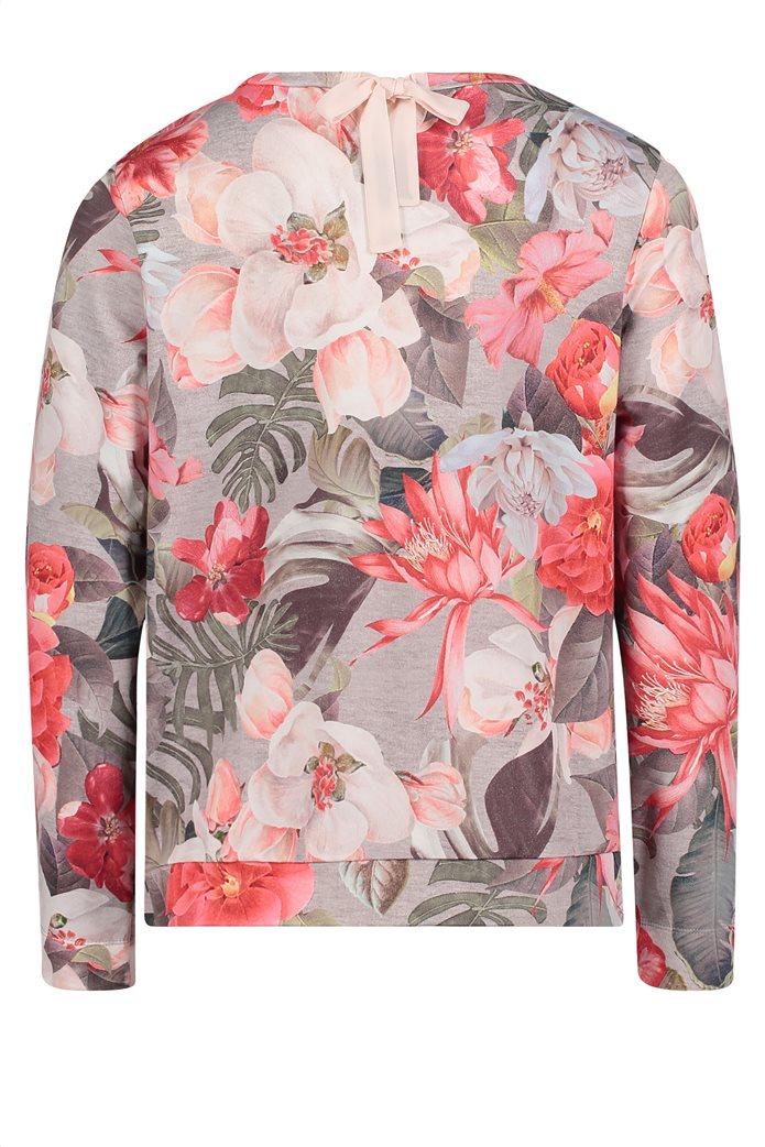 BΕΤΤΥ & CO Γυναικεία μπλούζα με μεγάλο φλοράλ print 4