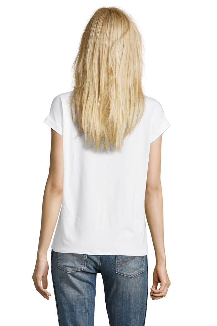 BΕΤΤΥ & CO Γυναικεία μπλούζα κοντομάνικη με μικρό φλοράλ print 1