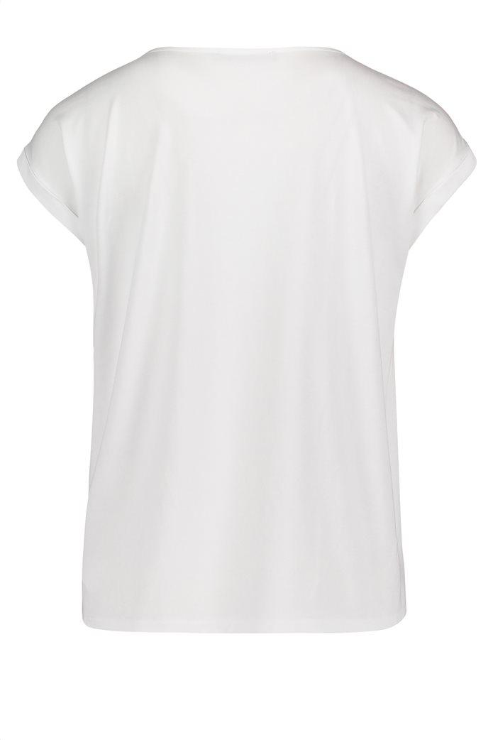 BΕΤΤΥ & CO Γυναικεία μπλούζα κοντομάνικη με μικρό φλοράλ print 4