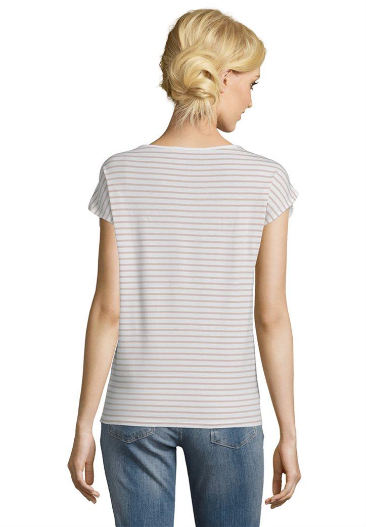 BΕΤΤΥ & CO Γυναικεία μπλούζα κοντομάνικη με all over φλοράλ print 1
