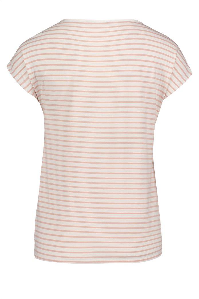 BΕΤΤΥ & CO Γυναικεία μπλούζα κοντομάνικη με all over φλοράλ print 4