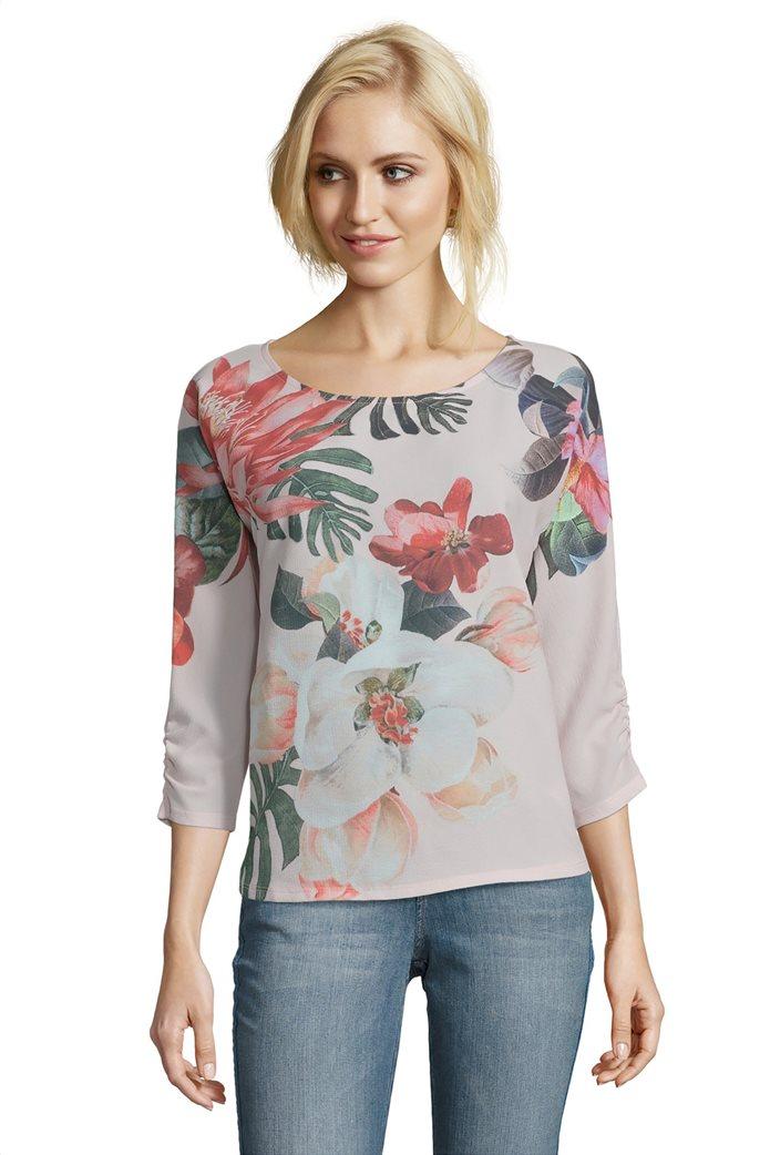 BΕΤΤΥ & CO Γυναικεία μπλούζα με all overφλοράλ print 0