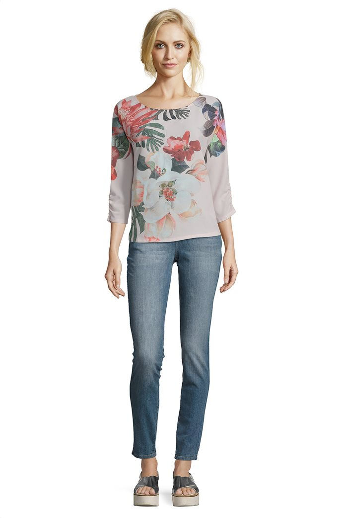 BΕΤΤΥ & CO Γυναικεία μπλούζα με all overφλοράλ print 2