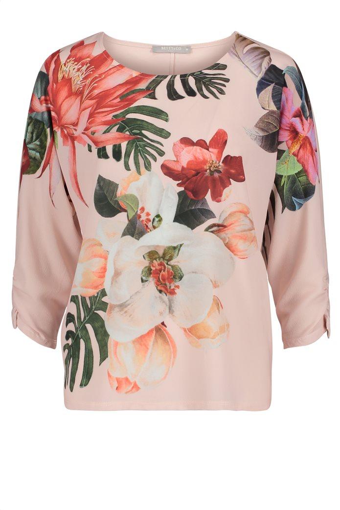 BΕΤΤΥ & CO Γυναικεία μπλούζα με all overφλοράλ print 3