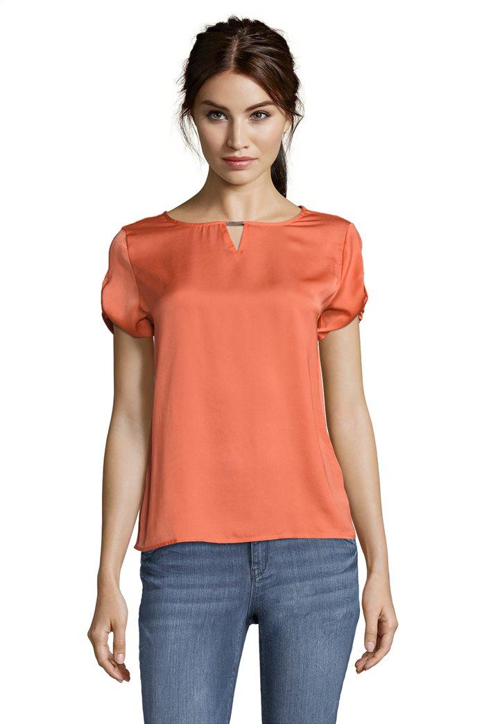 BΕΤΤΥ & CO Γυναικεία μπλούζα κοντομάνικη μονόχρωμη 0