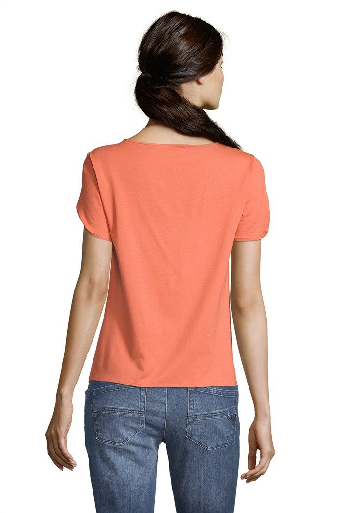 BΕΤΤΥ & CO Γυναικεία μπλούζα κοντομάνικη μονόχρωμη 1