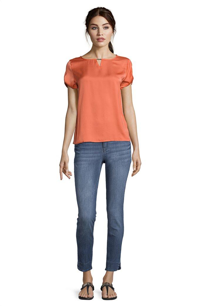 BΕΤΤΥ & CO Γυναικεία μπλούζα κοντομάνικη μονόχρωμη 2